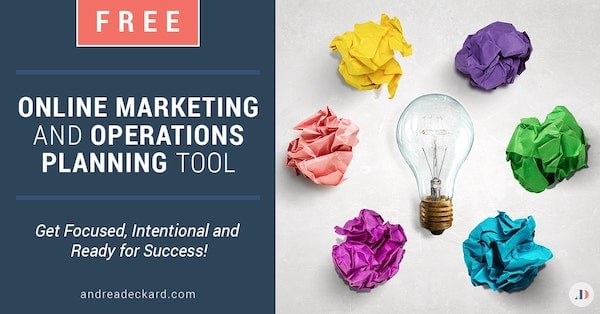 Online Marketing and Operations Planning Tool-fb